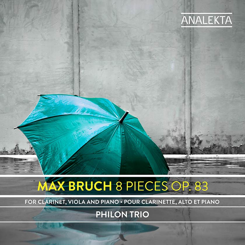 Max Bruch: Eight Pieces for Clarinet, Viola and Piano, Op. 83