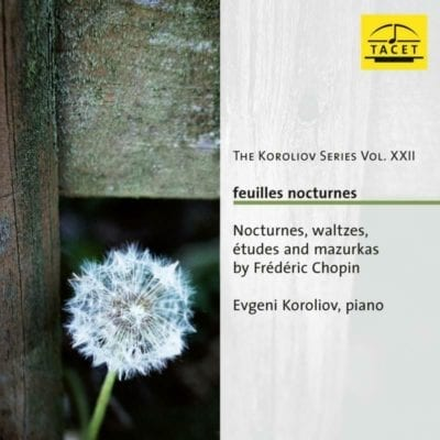 The Koroliov Series Vol. XXII. Feuilles Nocturnes
