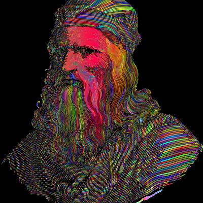 Leonardo da Vinci in a public space near you